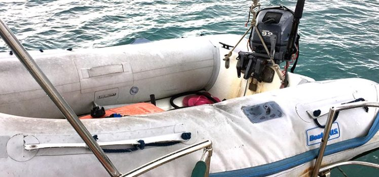 If only our dinghy could repair itself - Zero to Cruising